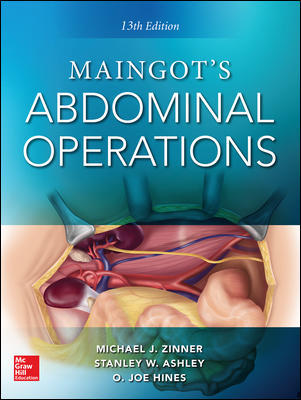 Maingot's Abdominal Operations. 13th edition Book Cover